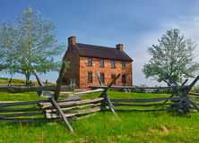 Old Stone House Manassas Battlefield Royalty Free Stock Photo