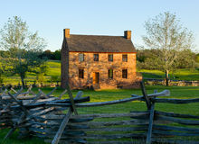 Old Stone House Manassas Battlefield Stock Photo