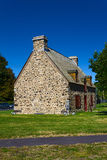 Old stone house Montreal Stock Images