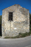 Old stone house in Samothrace Stock Photography