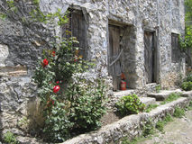 Old stone house, turkey Royalty Free Stock Photos