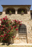 Old stone house in Tuscany Stock Photography