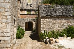 Old stone houses Royalty Free Stock Photo
