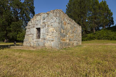 Old stone jail in California Royalty Free Stock Photos