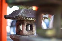 Old stone lantern Royalty Free Stock Photography