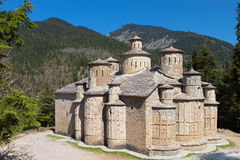 Old stone made church in Greece Stock Photography