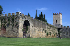 The old stone made fortress in Livorno,Italy, Royalty Free Stock Photography