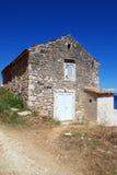 Old stone made house on the island Susak near Mali Losinj Stock Photos