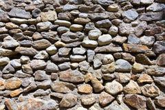 Old stone masonry. Old masonry made of natural rocks Royalty Free Stock Images