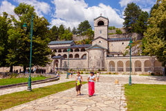 Old stone Monastery in Cetinje, Montenegro Royalty Free Stock Image