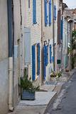 Old Stone Narrow Streets of small Provence town, France Royalty Free Stock Images