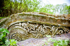 Old Stone ornament Royalty Free Stock Image