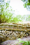Old Stone ornament Royalty Free Stock Images