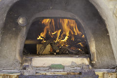 Old stone oven Stock Image