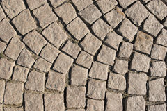 Old stone paved street Royalty Free Stock Photography