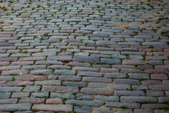 Old stone pavement Royalty Free Stock Photography