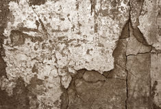 Old stone pavement as a background, top view, horizontal Royalty Free Stock Images