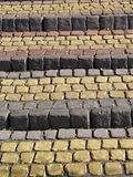 Old stone pavement stairs in the park Royalty Free Stock Images