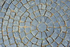 Old stone pavement texture Royalty Free Stock Image