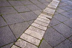Old Stone Paving Stock Image