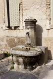 Old stone public fountain Royalty Free Stock Photography