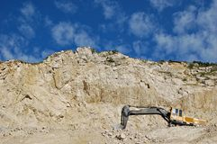 An old stone quarry Royalty Free Stock Image