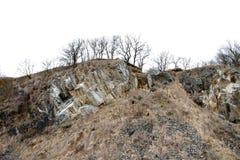 Old stone quarry Stock Photo