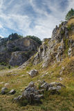 Old stone quarry Royalty Free Stock Images