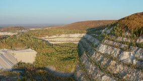 Old stone quarry