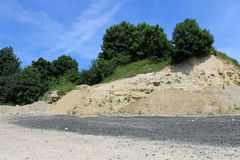 Old stone quarry Stock Photography