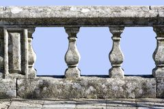 Old stone railing Royalty Free Stock Photography