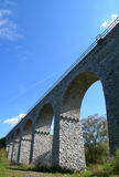 Old stone railway bridge Stock Image