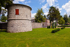 Old stone residence in Cetinje, Montenegro. Stock Photography
