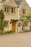 Old stone residential house Royalty Free Stock Photo