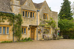 Old stone residential house Royalty Free Stock Image