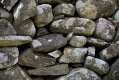 Old Stone Retaining Wall Stock Images