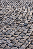 Old stone road. The fragment of an old stone road Royalty Free Stock Photography