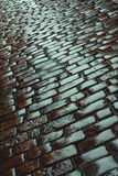 Old stone road Royalty Free Stock Photo