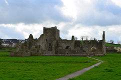 Old Stone Ruins of Hore Abbey Stock Photo