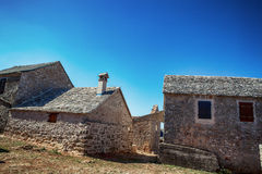 Old stone rustic house Royalty Free Stock Photography