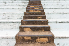 Old stone stair Royalty Free Stock Photos