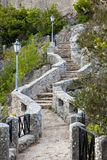 Old Stone Staircase Stock Photos