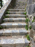 An old stone staircase Royalty Free Stock Photography