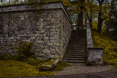 Old Stone staircase Royalty Free Stock Photography