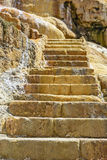 Old stone staircase Stock Images