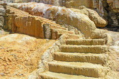 Old stone staircase Royalty Free Stock Image