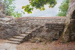 Old stone staircase. Stock Photos