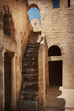 Old stone stairs Royalty Free Stock Photo