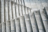 Old stone stairs Royalty Free Stock Image