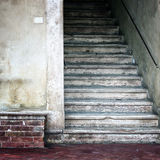 Old stone stairs background Royalty Free Stock Image